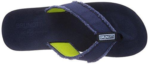 Brunotti Egger Men Slipper, Chaussons homme Bleu - Blau (Navy 050)