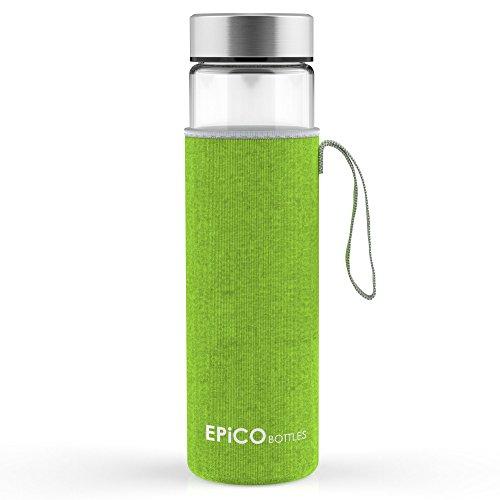 EPiCO BOTTLES Clásica 600 ml | Botella de Cristal | Botella de Vidrio