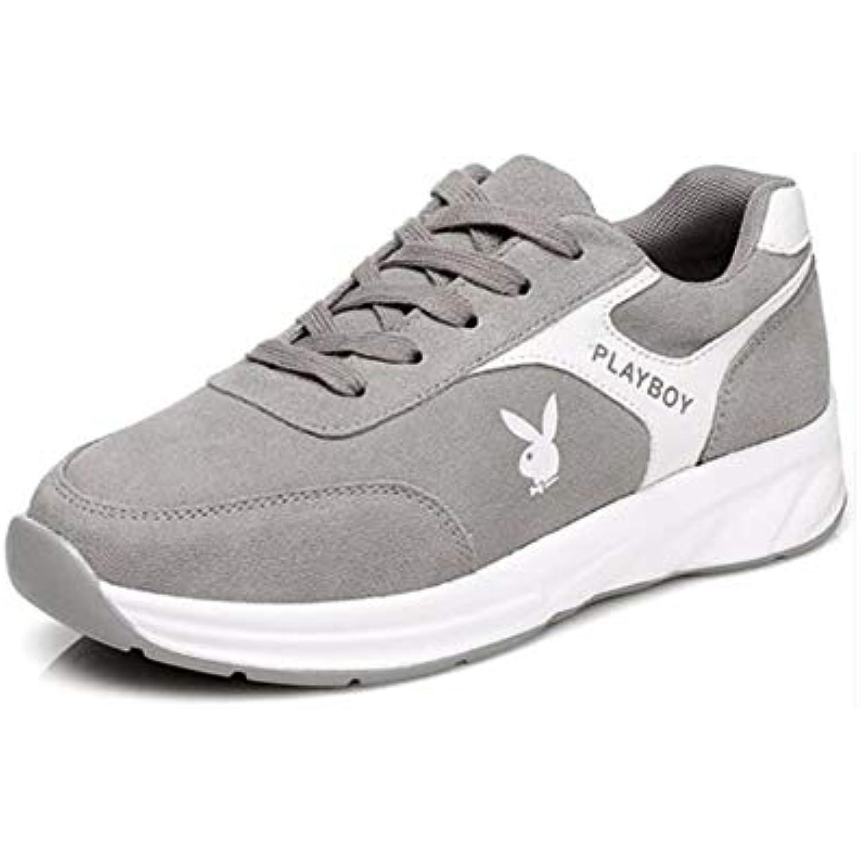 FH Chaussures Femmes pour Femmes Chaussures Chaussures de Course Sauvages coréennes (Couleur : Gris, Size : EU36/UK3.5/CN35) - B07J6GMR4P - c28966