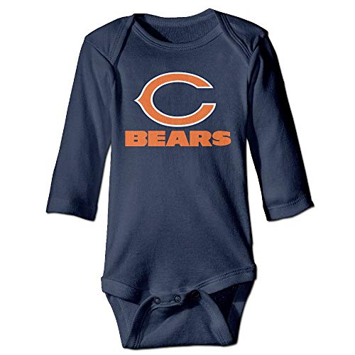 laura fleming Baby Onesies Chicago Baby Bears Fan Niedliches Baby Langarm