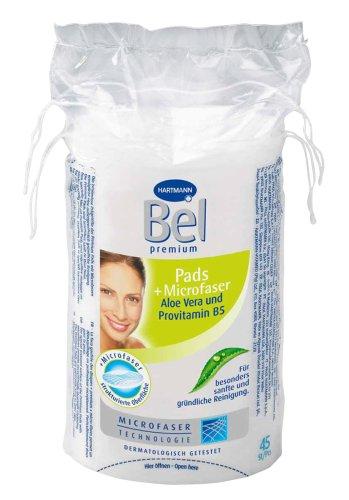 Bel 918554 - Premium Pads mit Aloe Vera und Provitamin B5 groß, oval 45 Stück - Gesicht Reinigen Mit Aloe-pads