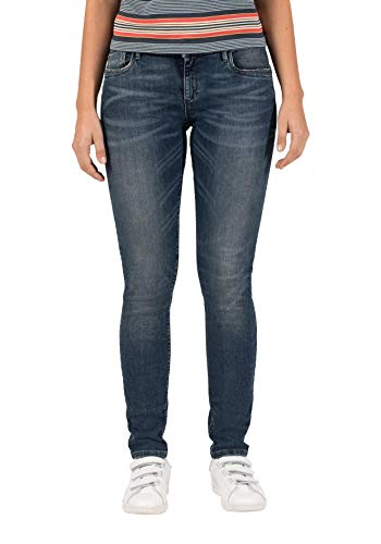 Timezone Damen SilvaTZ Slim Jeans, Blau (Luxury Blue Wash 3261), W32/L34 (Herstellergröße: 32/34)