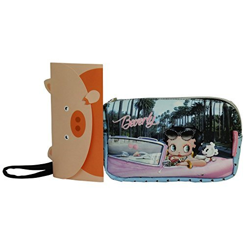 Betty Boop Beverly Pochette Maquillage Make-Up Beauty Vanity Trousse