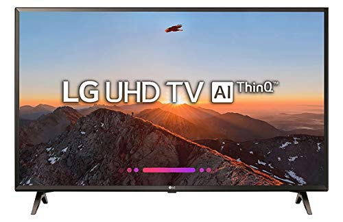 LG 108 cm (43 inches) 4K Ultra HD Smart LED TV 43UK6360PTE (Black) (2018 model)