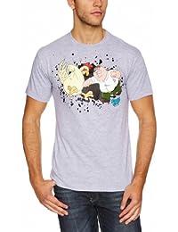 Family Guy Men's Chicken Fight Short Sleeve T-Shirt