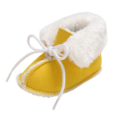 Baby Boots, Fashion Baby Child Winter Style Cotton Boot Soft Shoes Keep Warm Plush Snow Boots Crib Shoes