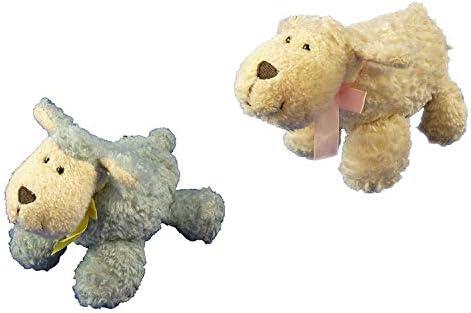 BALLOONSHOP Lot de 2 Peluches Mouton / Agneau de de de 15 cm - 1 pièce de Chaque Cadeau idéal pour Les  s B07K6RGWNC e37889