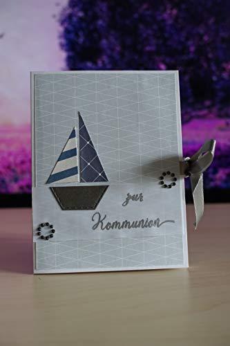 Handgemachte Grußkarte Kommunion/Handmade Card
