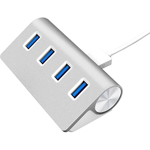 sabrent-usb-hub-premium-4-port-usb-30-silber-aluminum-hub-76cm-kabel-fur-imac-macbook-macbook-pro-ma
