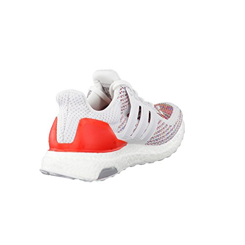 adidas Ultraboost M, Chaussures de Running Entrainement Homme, Blanc, 40 EU Blanc Cassé - Blanco (Ftwbla / Ftwbla / Rojo)