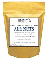 Jimmy's Gourmet Kitchen Granola Cereals(500g)(All Nuts & Maple Syrup) (Vegan Gluten Free)