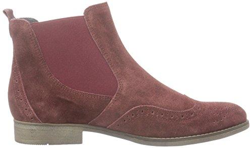 ... Gabor Damen Fashion Chelsea Boots Rot (Wine (Sohle fumo) 15)