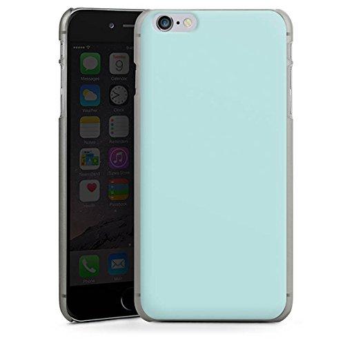 Apple iPhone 5s Housse étui coque protection Aigue-marine Bleu pâle Verdoyant CasDur anthracite clair