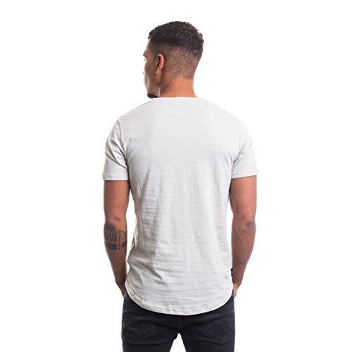 Rocawear Herren Oberteile / T-Shirt Logo PASTEL OLIVE