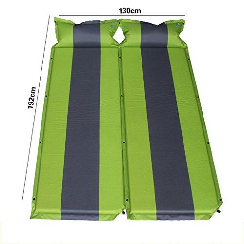 YOTA HOME Couverture de Pique-Nique Tente De Déjeuner Tente Extérieure Étanche À L'humidité Tente De Couchage Pliant Automatique Matelas De Camping Gonflable Pad 192 * 130cm Pique-Nique