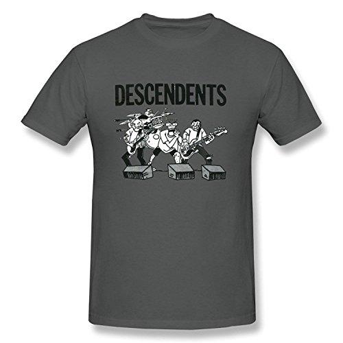 HUIMIN Men's Descendents T-shirt (Medium)