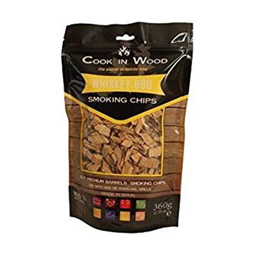 Cook en bois à whisky BBQ Chips 360 g
