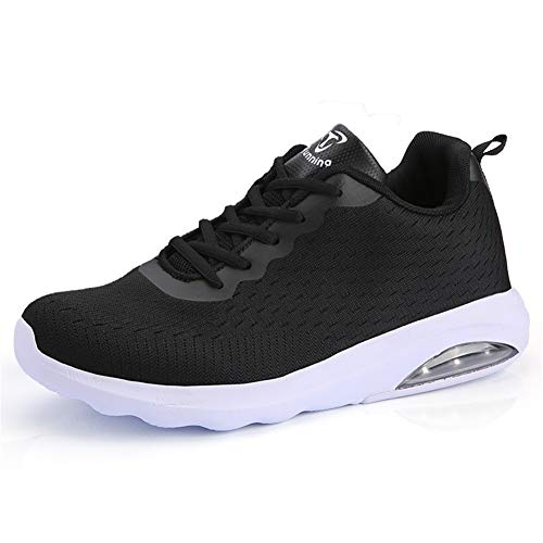 Fexkean Herren Damen Sneaker Laufschuhe Sportschuhe Air Leicht WalkingSchuhe Running Turnschuhe Shoes(B33BK40)