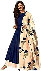 Sathiya Creation Woman Afreen Multi-Colours Rayon Salwar Suit With Dupatta