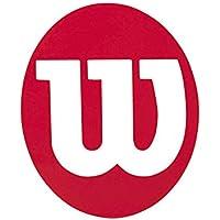 Wilson Tennis Stencil Cordaje para Raquetas-Unisex, Adulto, Rojo, NS