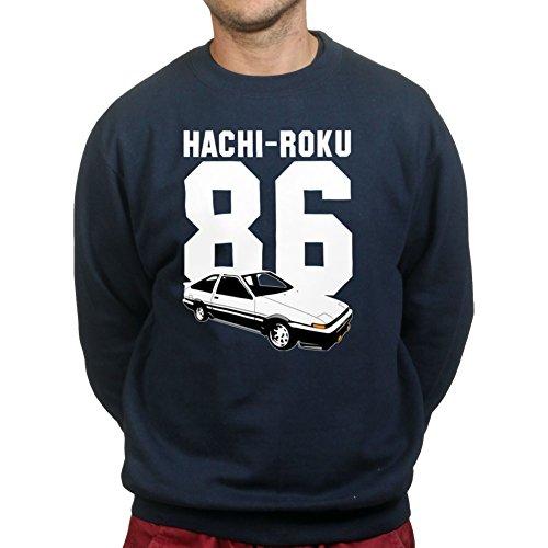 ae86-hachiroku-corolla-drifting-levin-4a-ge-jdm-engine-sweatshirt-s-navy-blue