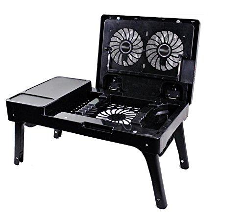 Lazy Table Freizeit und Unterhaltung Studentenzimmer Schlafsessel Tisch Klapptisch Tisch Tischtisch Lernen Tisch ( Farbe : Schwarz )