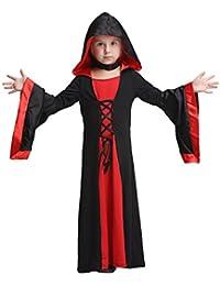Feicuan Bambini Cosplay Costumi di vampiro Halloween festa in maschera  Abito di carnevale e87419865bbb