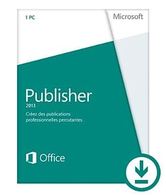 Microsoft Publisher 2013 - 1 PC / 1 utilisateur  [Téléchargement]