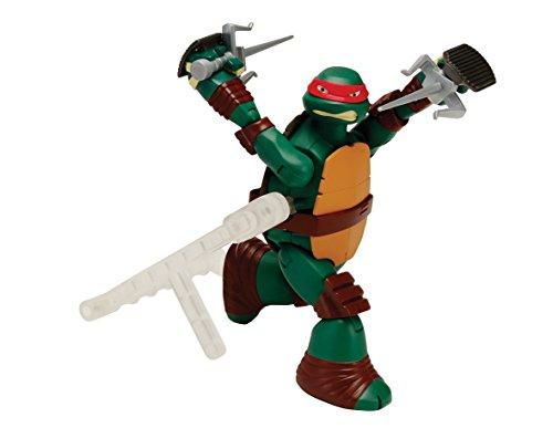 Teenage Mutant Ninja Turtles Deluxe Raphael Action Figur [UK Import]