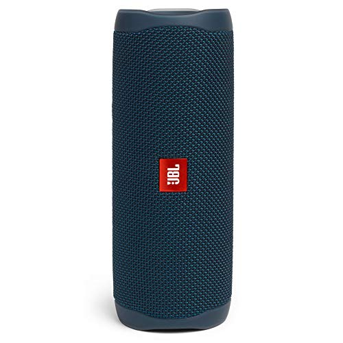 JBL Flip 5 20 W IPX7 Waterproof Bluetooth Speaker with PartyBoost (Without Mic, Blue)