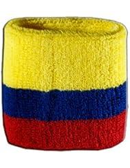 Digni® Poignet éponge avec drapeau Colombie