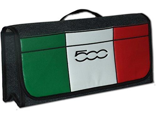 Preisvergleich Produktbild Embroidery King 500 Sport Auto Kofferraum Tidy Organizer Aufbewahrungstasche mit Gesticktem 500