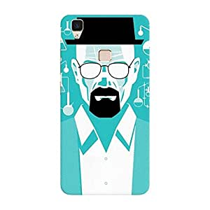 Breaking Bad Heisenberg Vivo v3 case