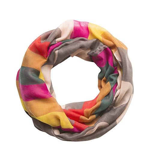 CODELLO Loop mit Streifen und Punkten grau 82083707