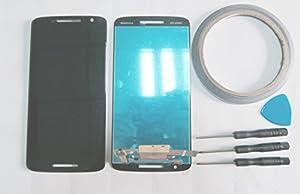 Display Touchscreen Full LCD Komplett Einheit mit für Motorola Moto X Play XT1562 Schwarz