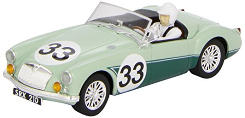 Scalextric Original - MG A #33 Lund - Coche Slot analógico