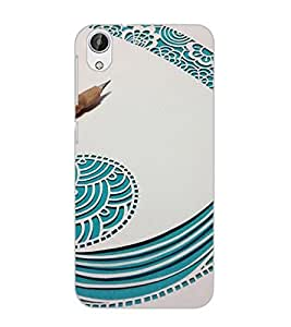 HTC DESIRE 626 S ART Back Cover by PRINTSWAG