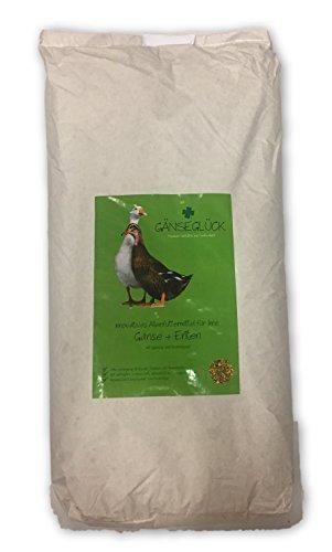 Kügler-Mühle Gänseglück Alleinfutter für Gänse und Enten 20kg die Alternative zum Mastfutter