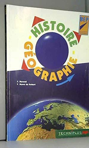 Histoire - géographie, BEP, 2e professionnelle