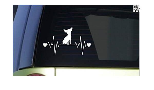Herzschlag Aufkleber Labrador Retriever 20cm Sticker Herz Fan Hobby Leidenschaft Liebe f/ür Auto Autoaufkleber