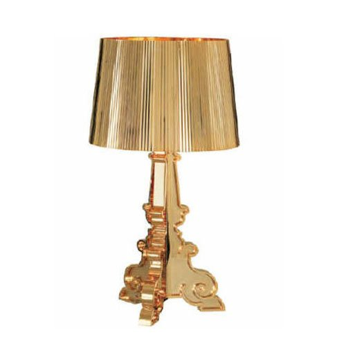 Kartell 907400 Light Bourgie Metallised Gold | Online Shop | The ...