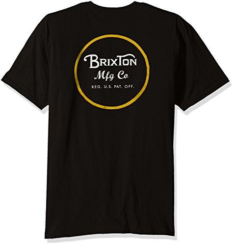 Brixton Herren nero/giallo
