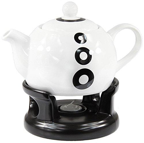 Teekanne Modern teekanne kanne stövchen set modern design neu küchengeräte