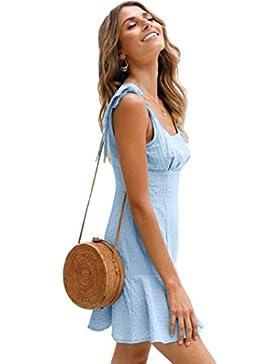 Vestido Para Mujer,Bestseller Minifalda de color sólido para mujer cortos vestidos Falda