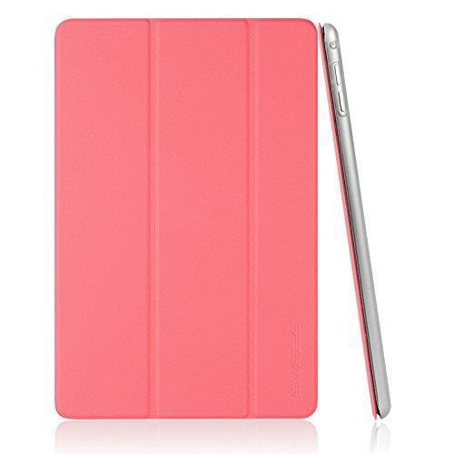 Swees iPad Mini 4 Hülle, iPad Mini 4 Hülle Schutzhülle Smart Case Cover Etui Tasche mit Standfunktion und Auto Sleep/Wake Funktion für Apple New iPad Mini 4 Veröffentlicht am 2015 - Hotpink