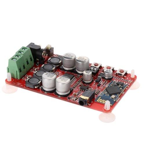 KKmoon TDA7492P 2 * 25 W Wireless Bluetooth V4.0 receptor de audio digital amplificador tablero módulo con AUX-interfaz