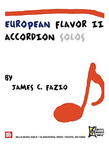European Flavor II (Accordion Solos). Partitions pour Accordéon
