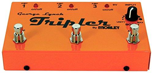 Morley George Lynch Tripler - Conector de guitarra a 3 amplificadores