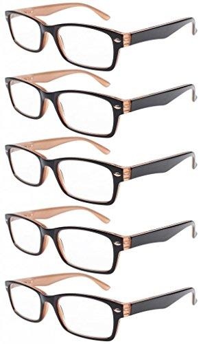 Eyekepper Lettori di occhiali di qualità cerniera a molla tempie lettura Gunmetal +2.0 SXIY8Sez