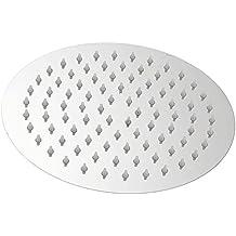 Cabeza de ducha de repuesto - acero inoxidable - cuadrada o redonda 4 pulgada 6 /